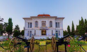 جاهای دیدنی بندرانزلی و اطراف حومه شرکت آکام آتا موزه نظامی