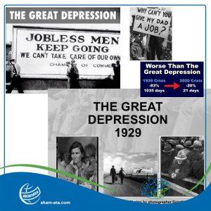 The Great Depression 2020 World Economic Collapse 2020 US Economy 1929