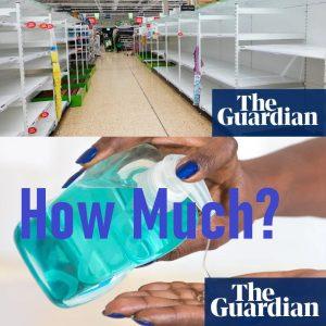 hand sterilizer shortage the US UK Canada world coronavirus global crisis