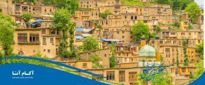 شهر زیبای ماسوله در استان گیلان عکس زیبا تصویر ماسوله تابستان کجا برویم سفر شمال