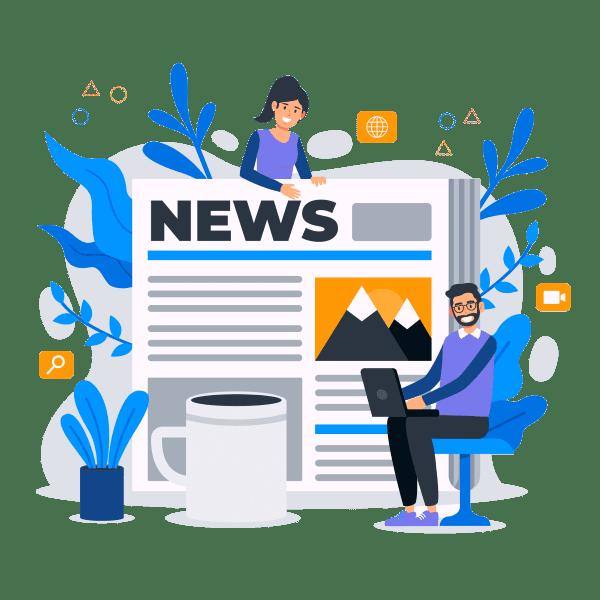 قیمت طراحی وب سایت خبری